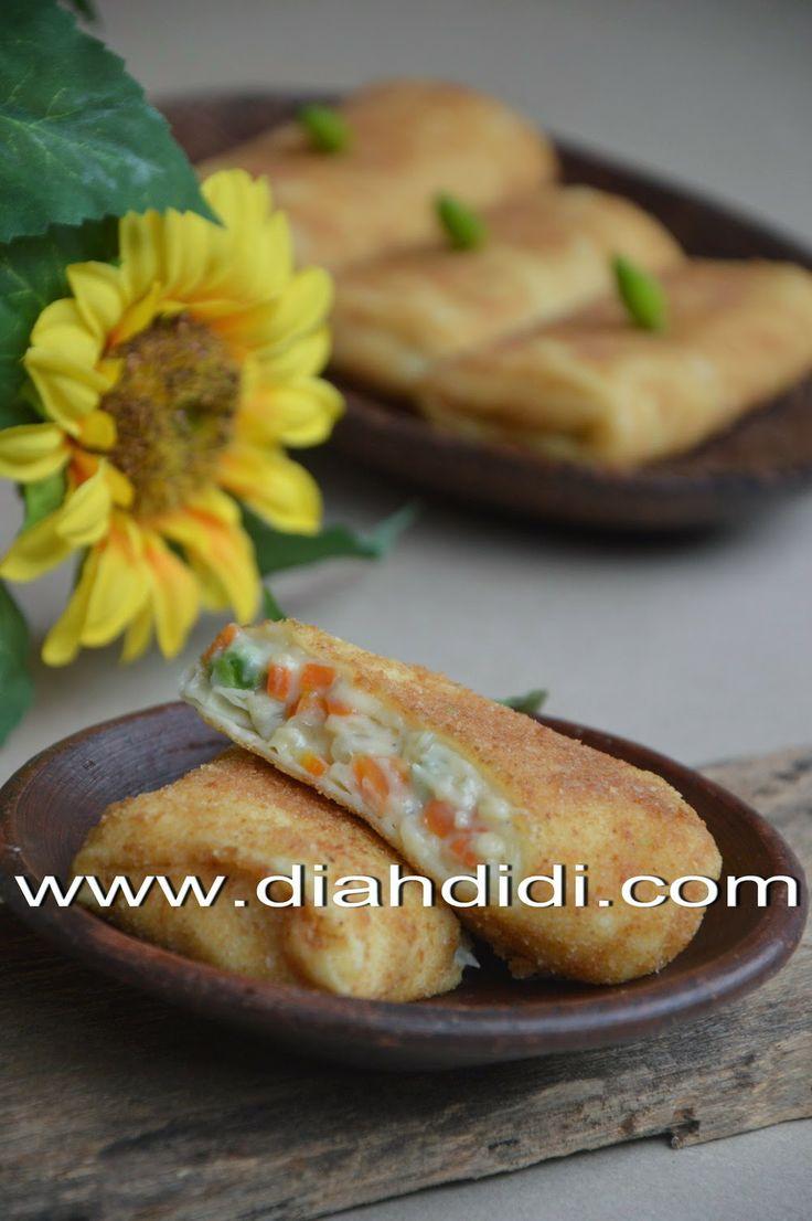 Diah Didi's Kitchen: Risoles Vs Lumpia
