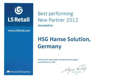 Germany: HSG Hanse Solution GmbH