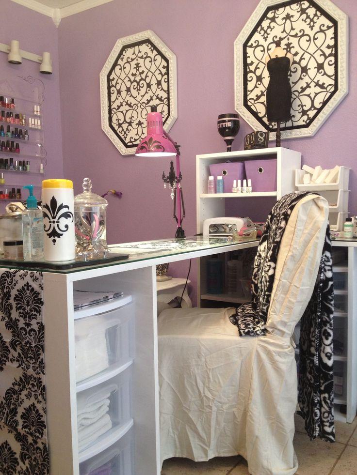 25 best manicure table ideas on pinterest nail station - Table de salon longue ...