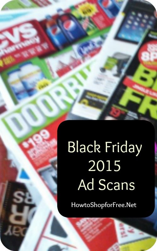 Black Friday 2015 Ad Scans and Leeks!
