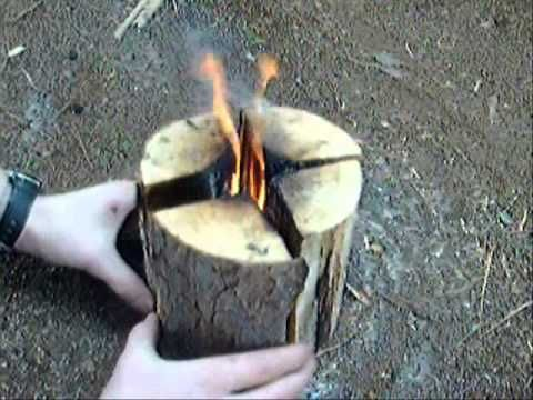 Spy School: How to Build a Swedish Fire Torch for Cooking and Warmth | Primer