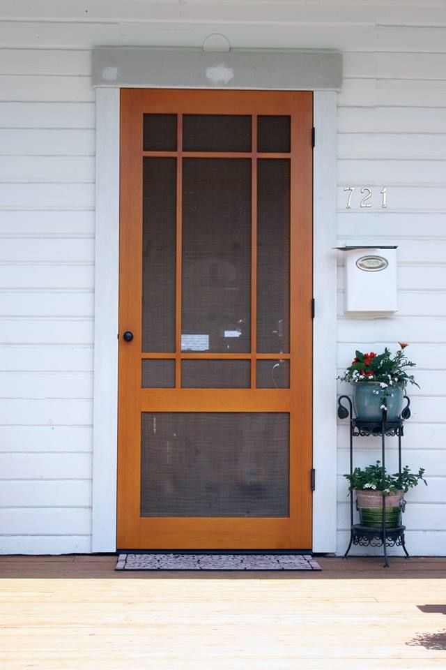 42 Best Screen Doors Images On Pinterest Wooden Door
