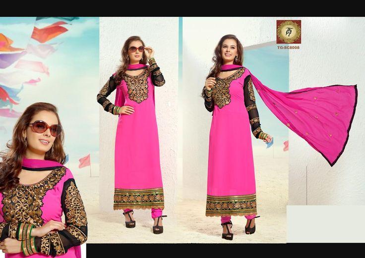 Evelyn Sharma Pakistani Style Salwar Kameez
