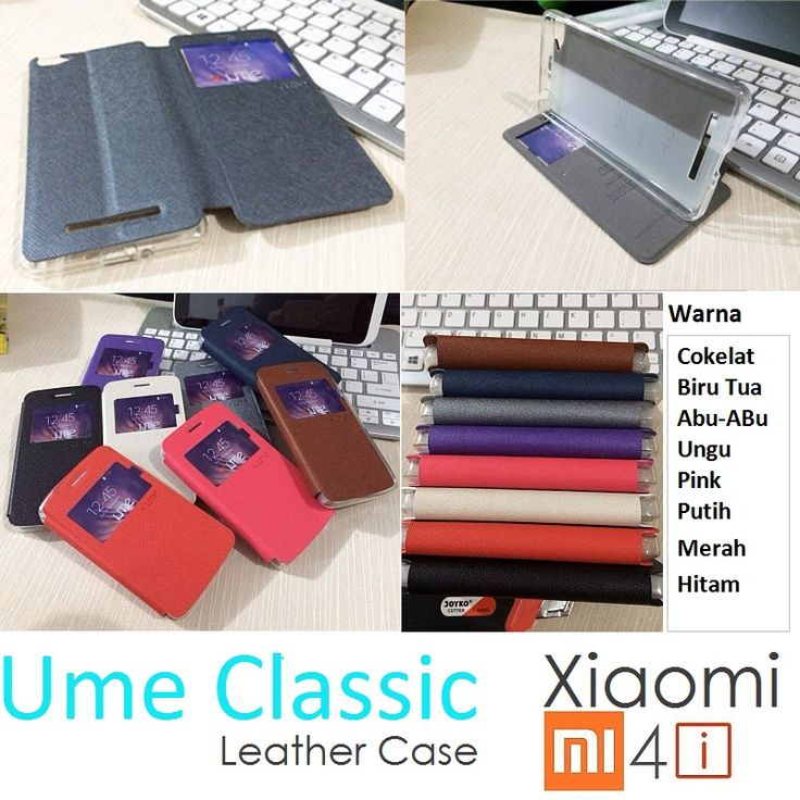 Xiaomi Mi4i Ume Classic View Leather Case - Rp 100.000 - kitkes.com