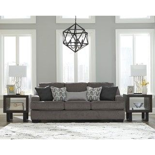 Shop for Signature Design by Ashley Gilmer Gunmetal Queen Sofa Sleeper. Get free shipping at Overstock.com - Your Online Furniture Outlet Store! Get 5% in rewards with Club O! - 20399246