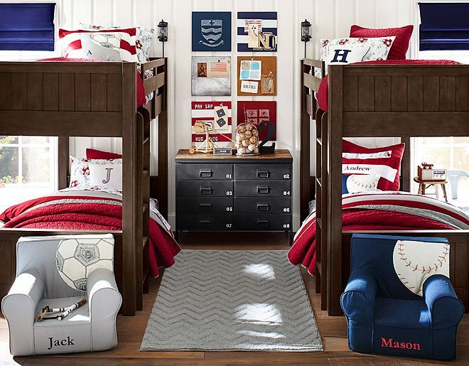 120 best images about boys bedroom ideas on pinterest for Pottery barn kids rooms