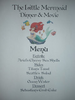 Disney dinner and a movie night ideas for various Disney classics!