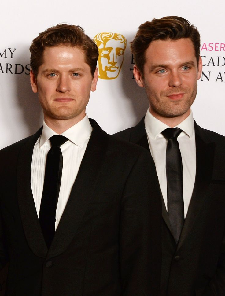 Kyle Soller (Francis) and Luke Norris (Dr. Enys) - Poldark