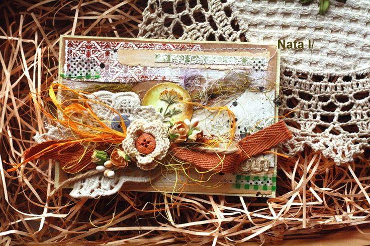 Хоббимания... с теплом... от сердца к сердцу: эко-пост.. открытки и друзья
