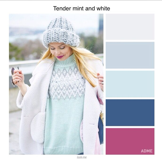 Colour schemes for winter