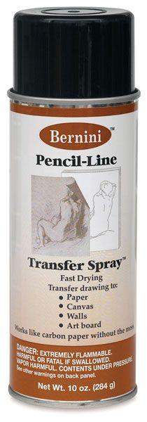 Bernini Pencil-Line Transfer Spray - BLICK art materials