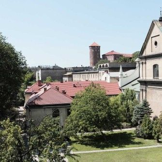 Wawel Castle View. Kraków.