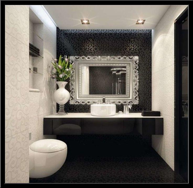 oltre 25 fantastiche idee su arredo per il bagno nero su pinterest ... - Arredo Bagno Nero