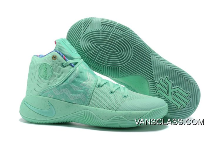"Nike Kyrie 2 ""What The"" Green Glow/Green Glow Best"