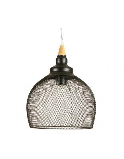Lámpara Techo Malla Redonda Metalica 38 x 38 x 160 centímetros - LuxoMobel