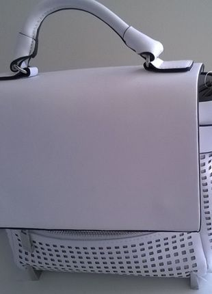 Kup mój przedmiot na #vintedpl http://www.vinted.pl/damskie-torby/torby-na-ramie/9943689-zara-basic-azurowa-torebka-city-nowa