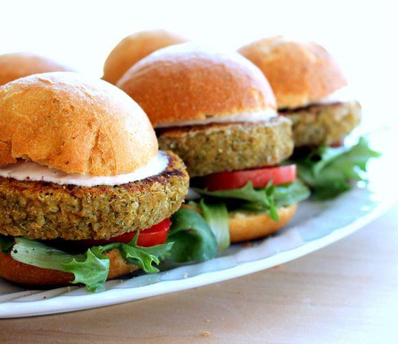 Receta de hamburguesa de quinoa