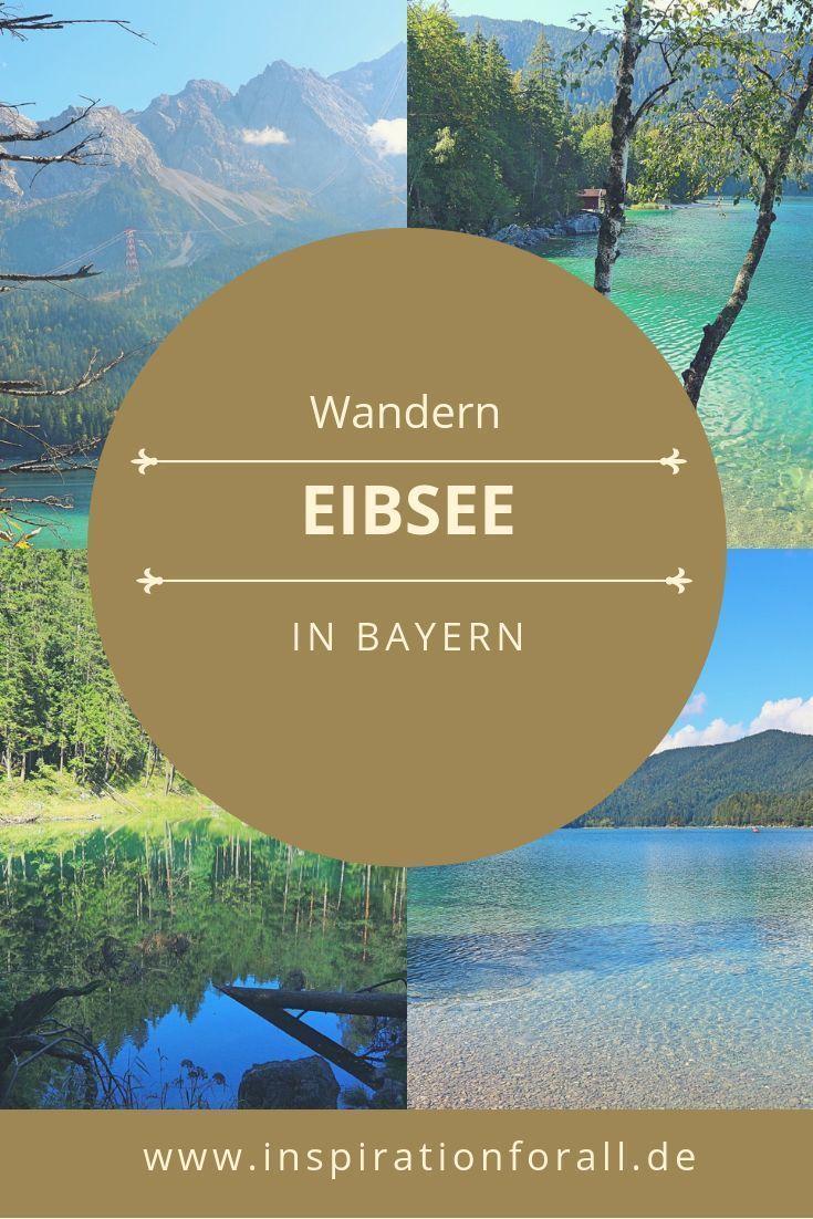Eibsee Rundweg: wandern durch malerische Landschaft