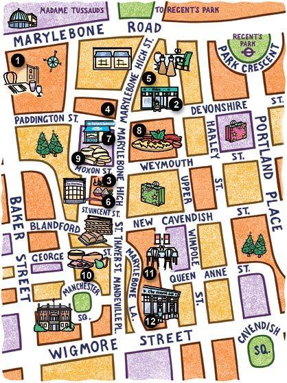 Marylebone map