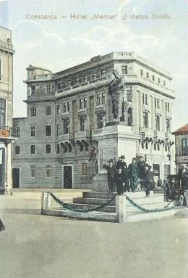 CONSTANTA - HOTEL MERCUR - 1917