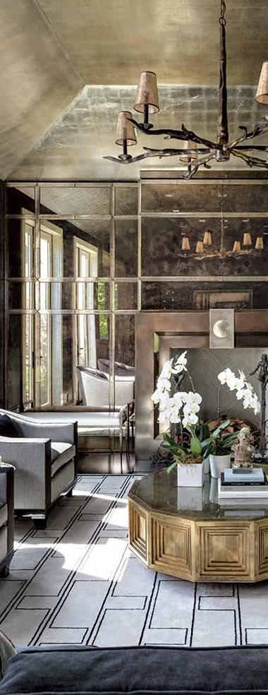 Luxe · decor roomluxury housescontemporary interior designarchitecture interior designbeautiful spaceelegant homesyork apartmentwall