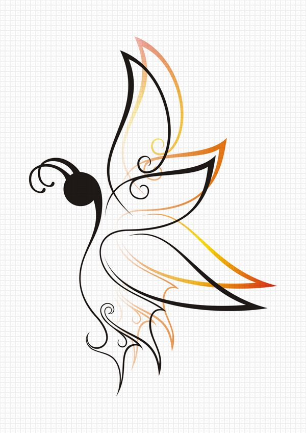20 best small butterfly tattoo outline drawing images on pinterest butterflies butterfly. Black Bedroom Furniture Sets. Home Design Ideas