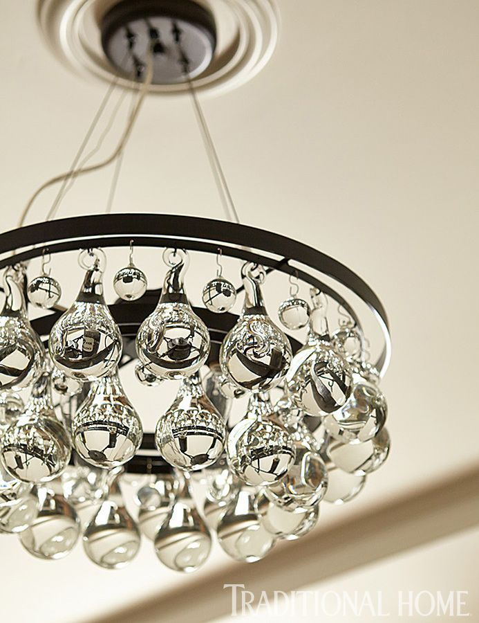 lighting homes. love the glass baubles on this light fixture traditional home photo lighting homes
