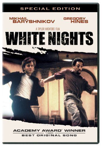 White Nights!  Great Dance movie with Mikhail Barysnhikov and Gregory Hines! <3 <3 Awesome dance scenes and great acting!