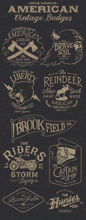American Vintage Badges Part Three