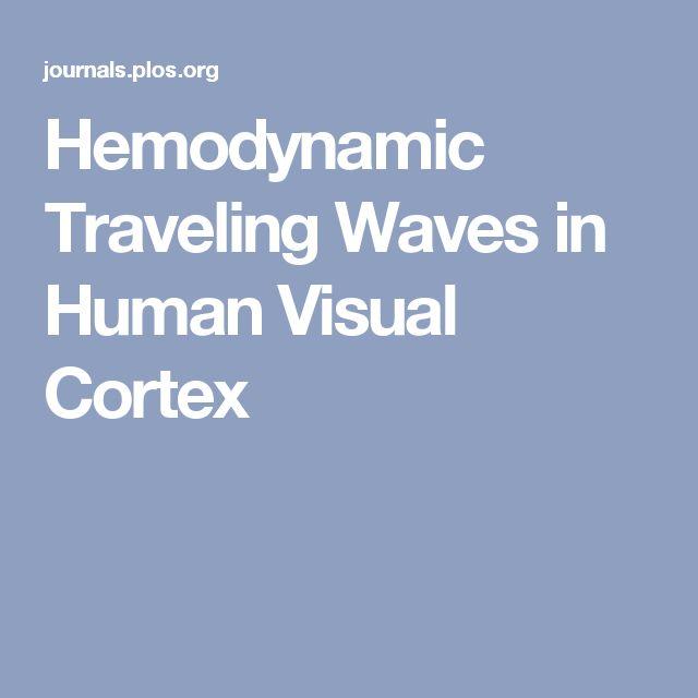 Hemodynamic Traveling Waves in Human Visual Cortex