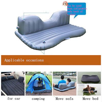 Стекаются кровать надувной автомобиль заднее сиденье матрас воздушного путешествия отдых сон кемпинг внедорожник