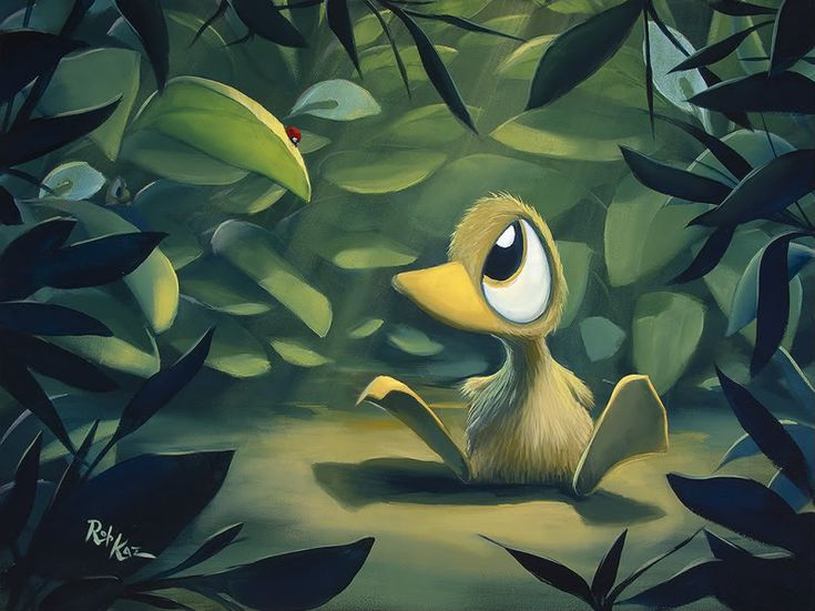 Rob Kaz - Whatcha Staring At - original oil on canvas painting - Available at Paragon Fine Art