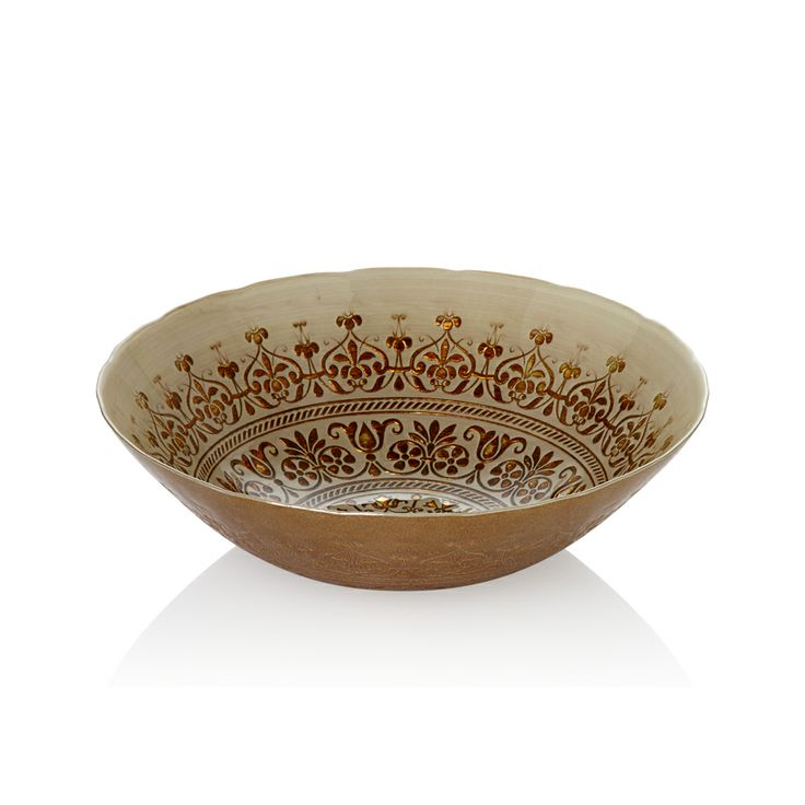 Bernardo Osmanlı Serisi Cam Kase / Glass Platter #bernardo #glass