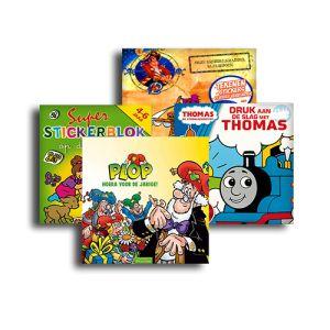Kwebbelskinderboeken levert maandelijks eenkinderboekenpakket speciaal samengesteld op maat (leeftijd en geslacht) van jouw kind. Iedere maand krijg je 4 boeken. Het aanbod bevat zowel (voor)leesboeken als spelletjes-, of stickerboeken. Je kan een abonnement kopen voor 3 maanden, voor 6 maanden of voor een jaar.Hierverkrijgbaar.