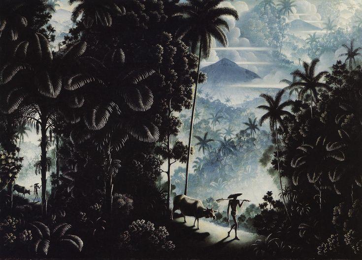 Die Landschaft und ihre Kinder - The Landscape and its Children / Walter Spies