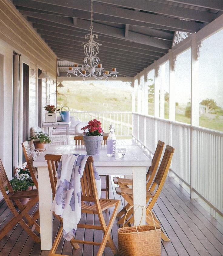 Another stunning wraparound verandah deck.