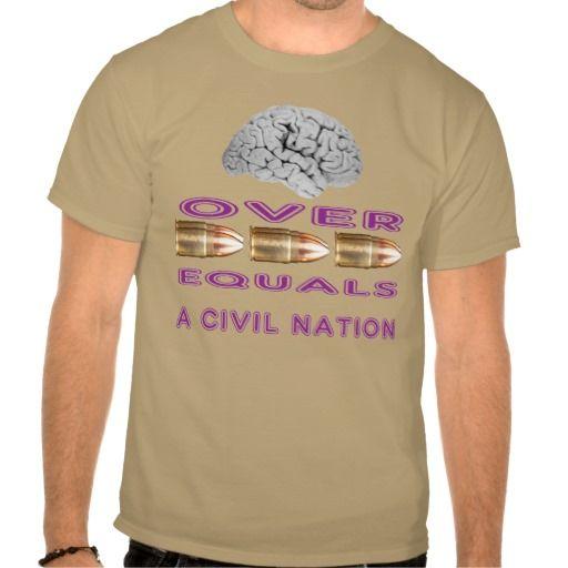 Brains over bullets tshirts T Shirt, Hoodie Sweatshirt