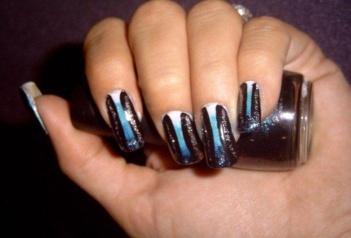 Fiberglass Nail Wraps: Venus Beauty Gothic Fiberglass Nail Wraps ~ Nail Designs Inspiration