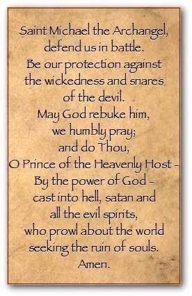 St. Michael the Archangel Prayer