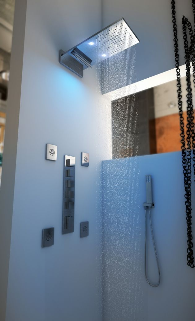 32 best Luxury Shower Heads images on Pinterest Architects - badezimmer naturt amp ouml ne