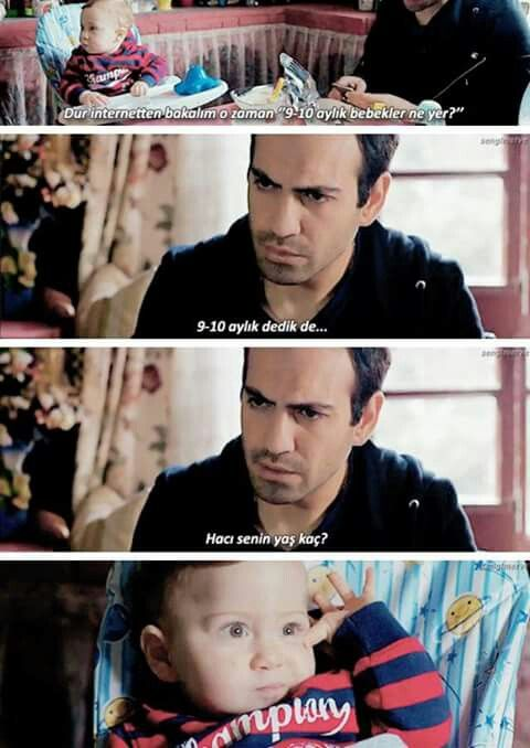 bugra and selim baby
