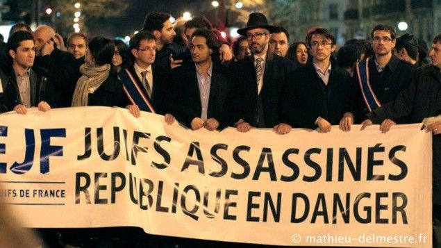 "Paris: Muslims screaming ""Death to the Jews"" break Jewish teacher's nose, draw swastika on his chest"