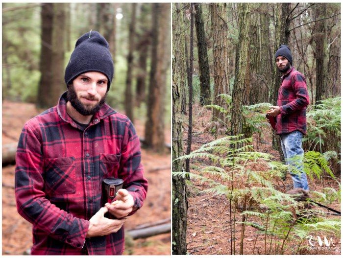 Andy out foraging mushrooms in the pine forest! We love foraging for food, do you have a favourite spot to forage? http://downrightraw.com.au