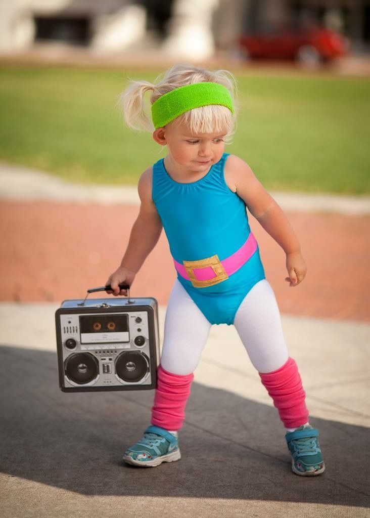 Best 25 toddler halloween costumes ideas on pinterest toddler diy 1980s toddler workout girl solutioingenieria Gallery