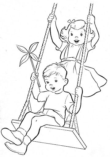 Coloring Book~Blue Boysu0027 Coloring Book   Bonnie Jones   Picasa Web Albums