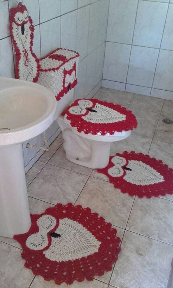 189 best crochet for home - bathroom images on pinterest