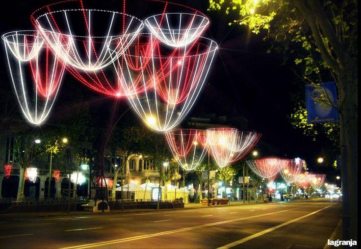 #Barcelona Christmas lights...