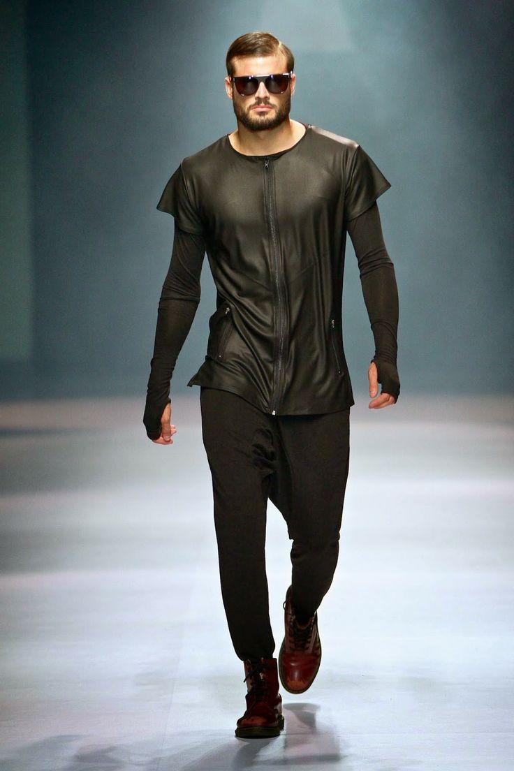 Future fashion trends 2014 - Male Fashion Trends Augustine Autumn Winter 2014 Mercedes Benz Fashion Week Joburg