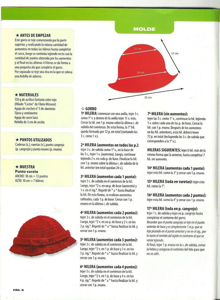 Fantástico Ganchillo Sombrero Libre Del Patrón Se Queda Atrás ...