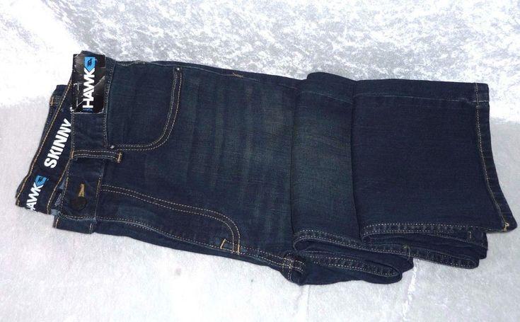 Tony Hawk Boys Skinny Jeans Denim Green Tint Adjustable Kids size 18 NEW  16.99 https://www.ebay.com/itm/232582106636